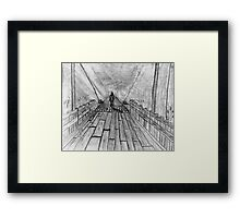 """The Other Side""  by Carter L. Shepard Framed Print"