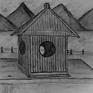&quot;Country Birdhouse&quot;  by Carter L. Shepard by echoesofheaven