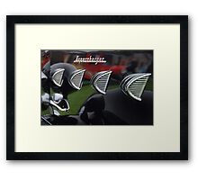"""Supercharger"" Framed Print"