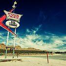 Mojave Desert Sign by Graham Gilmore