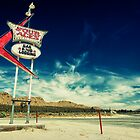 Mojave Desert Sign by Firesuite