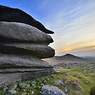 Cornwall: Evening at Showery Tor by Rob Parsons