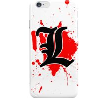 L iPhone Case/Skin