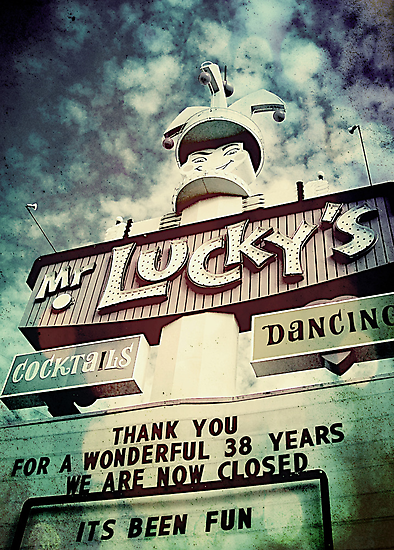 Mr. Lucky's by Jeff Clark