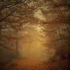 The Golden Forest by EbyArts