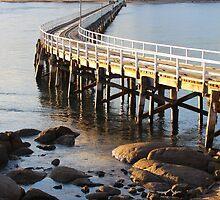 Granite Island Bridge Pt.6 by Stuart Daddow Photography