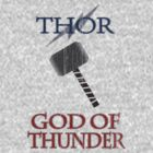 GOD OF THUNDER by Sammy Holmes