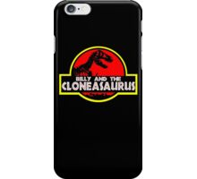 Billy and the cloneasaurus - The Simpsons Cartoon iPhone Case/Skin