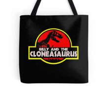 Billy and the cloneasaurus - The Simpsons Cartoon Tote Bag