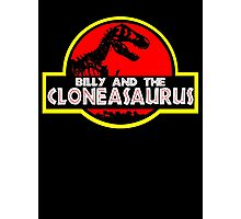 Billy and the cloneasaurus - The Simpsons Cartoon Photographic Print