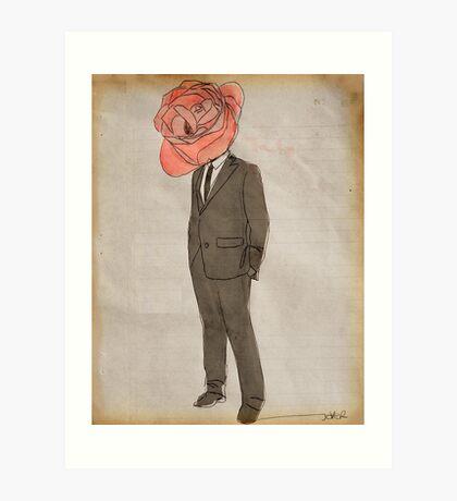 Mr Pink Art Print