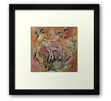 A Horse with a Destiny Framed Print