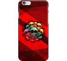 one planet_red iPhone Case/Skin