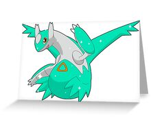 381 - Latios Shiny Greeting Card