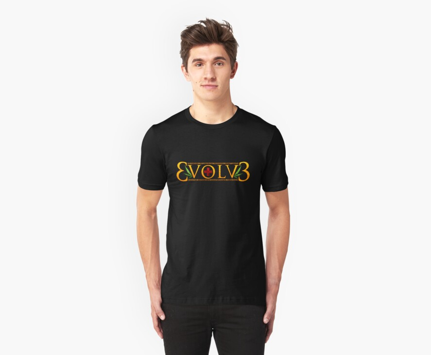 3volv3 HEAL T-Shirt by SAPIEN