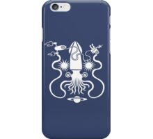 Gargantuan Space Squid Danger Imminent iPhone Case/Skin