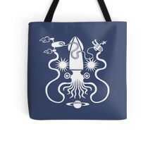 Gargantuan Space Squid Danger Imminent Tote Bag