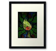Æ Leaf Framed Print