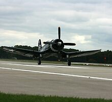 corsair F4u touchdown by wolf6249107