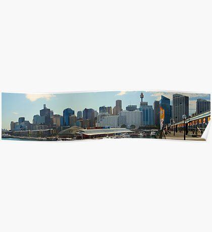Sydney City Scape Poster