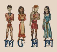 Medieval Merlin- Dragon Free by Zoe Kierce