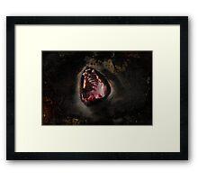 Scream!! Framed Print