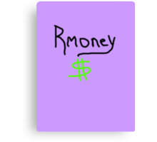 Mitt Romney Rmoney  2012 Canvas Print