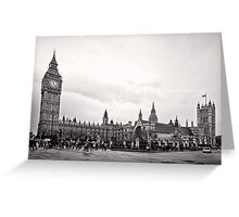 Big Ben and the Houses of Parliament - London - Britain Greeting Card