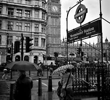 Westminster sight seeing - London - Britain by Norman Repacholi