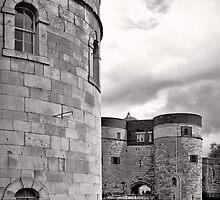 An imposing tower - London - Britain by Norman Repacholi