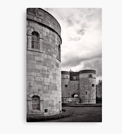 An imposing tower - London - Britain Canvas Print