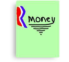 Mitt Romney also Rmoney  2012 Canvas Print