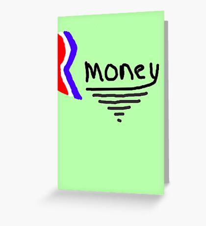 Mitt Romney also Rmoney  2012 Greeting Card