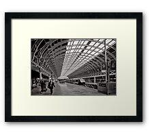 Paddington Platform 9 - London - Britain Framed Print