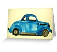 37 Ford Coupe  Greeting Card