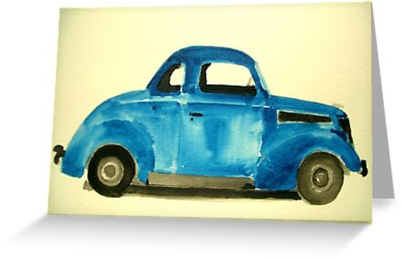 37 Ford Coupe  by Daniel Gallegos