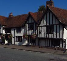 The Swan, Lavenham ( 16:9 version ) by wiggyofipswich