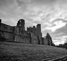 Walking and wondering of the walls that were - Kenilworth - Britain by Norman Repacholi