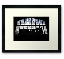 Room with a view - Kenilworth - Britain Framed Print