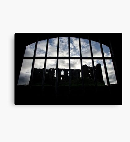 Room with a view - Kenilworth - Britain Canvas Print