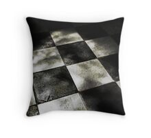 A Chequered History Throw Pillow