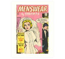 Menswear by The 1975 Comic Art Print
