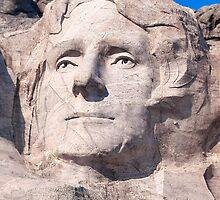 Thomas Jefferson, Mount Rushmore National Memorial  by Alex Preiss
