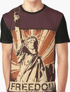BARISTA FREEDOM! Graphic T-Shirt