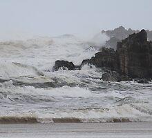 Trial Harbour beach .... waves by gaylene