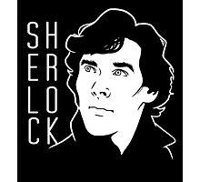 Sherlock Minimal Photographic Print