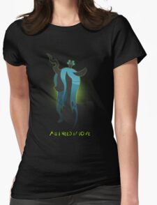 Queen Chrysalis Womens Fitted T-Shirt