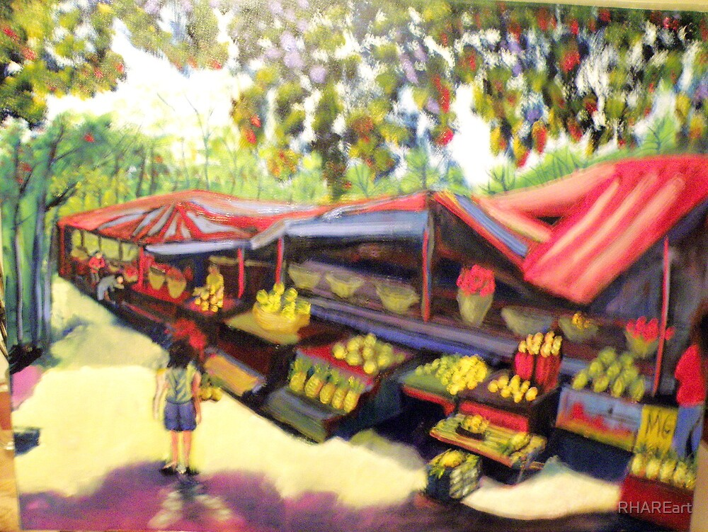 POLOMOLOK FRUIT STAND by RHAREart