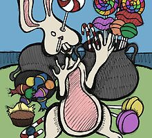 Teddy Bear And Bunny - Sugar Crash 2 by Brett Gilbert