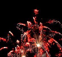 Fireworks in the sky by Ommik